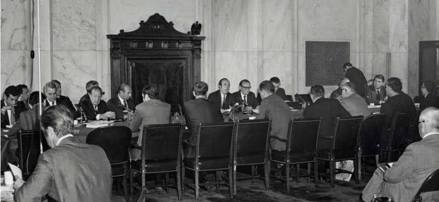 Meeting of the U.S. Advisory Commission on Intergovernmental Relations, 1970 (Courtesy of the Westchester County Archives)